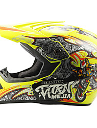 cheap -AHP 225 Motorcycle Motocross Helmet Adults Off-Road Helmet Full Face Racing Style Damping / Durable Fluorescent Yellow