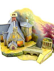 abordables -Kit de Maquette Architecture Exquis / Fait à la main / Interaction parent-enfant Plastique souple 1 pcs Style vintage / Romantique Enfant / Adulte Cadeau