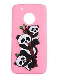 cheap -Case For Motorola Pattern Panda Soft