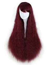 Недорогие -Парики для Лолиты Лолита Красный Прицесса Лолита Парики для Лолиты 35 дюймовый Косплэй парики Halloween Парики Хэллоуин парики
