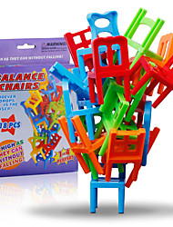cheap -Building Blocks Stacking Game Chair Professional Classic Balance Classic Boys' Girls' Toy Gift