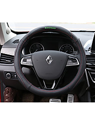 cheap -Steering Wheel Covers Genuine Leather 38cm Brown / Red / Black / Red For Borgward BX7 All years