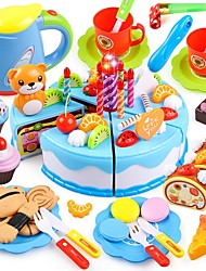 cheap -Play Kitchen Food&Drink Cake Cake & Cookie Cutters Stress and Anxiety Relief Exquisite Parent-Child Interaction Princess Kid's Unisex Toy Gift 55-80 pcs