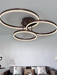 cheap -1-Light 77 cm Chandelier Metal Brushed Modern Contemporary 110-120V / 220-240V / FCC