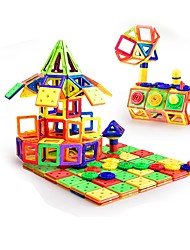 cheap -Magnetic Blocks Magnetic Tiles Building Blocks 260 pcs Architecture Vehicles Car Transformable Special Designed Parent-Child Interaction Boys' Girls' Toy Gift