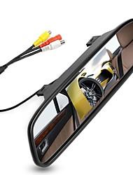 Недорогие -4,3-дюймовый цифровой tft жк-зеркало автостоянка монитор заднего вида