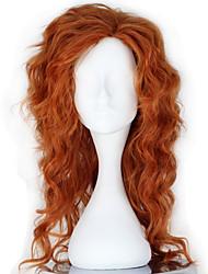 cheap -Pocket Little Monster Tinker Bell Cosplay Wigs Women's 22 inch Heat Resistant Fiber Orange Anime