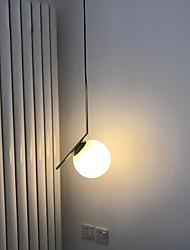 abordables -Lumière dirigée vers le bas Métal Verre 110-120V / 220-240V Ampoule non incluse / RoHs / CE / FCC / E26 / E27