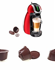 cheap -Reusable Capsule  for Dolce Gusto Coffee Nescafe Refillable Use 150 Times