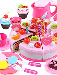cheap -Play Kitchen Food&Drink Cake Cake & Cookie Cutters Stress and Anxiety Relief Exquisite Parent-Child Interaction Princess Kid's Unisex Toy Gift 55-80 pcs / 14 years+