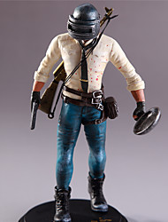 """cheap -6"""" Game Playerunknown's Battlegrounds PUBG Action & Toy Figure Exquisite People Warrior ABS 1 pcs Adults' Unisex Boys' Girls' Toy Gift"""
