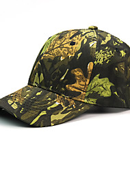 cheap -Sun Hat Hiking Hat Ball Cap UV Resistant Camo Cotton Summer for Men's Women's Hunting Climbing Outdoor Exercise Army Green Orange Green