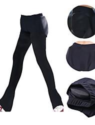 abordables -Pantalons de Patinage Artistique Homme Femme Patinage Pantalons / Surpantalons Noir Violet Spandex Entraînement Compétition Tenue de Patinage Graphique Pantalon long Patinage sur glace Multisport