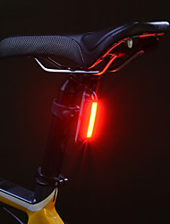 cheap -Bike Light Rear Bike Tail Light Safety Light Mountain Bike MTB Bicycle Cycling Waterproof Portable Alarm Warning Lithium USB