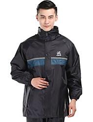 cheap -Men's Hiking Raincoat Outdoor Rain Waterproof Top Waterproof Rain Proof Outdoor Exercise Green Camping & Hiking Jackets Camping & Hiking Apparel & Accessories Activewear