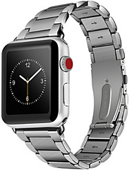 cheap -Watch Band for Apple Watch Series 4/3/2/1 Apple Classic Buckle Stainless Steel Wrist Strap