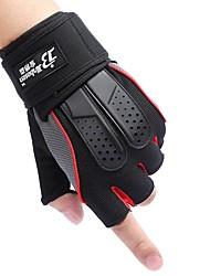cheap -Fingerless Gloves Winter Sports Mountain Bike / MTB / Casual / Motobike / Motorcycle Lycra
