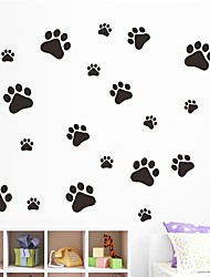 cheap -Animals Shapes Wall Stickers Plane Wall Stickers 3D Wall Stickers Decorative Wall Stickers Wedding Stickers, Vinyl Paper Home Decoration