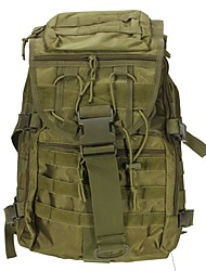 cheap -35 L Hiking Backpack Daypack Commuter Backpack Comfortable Outdoor Camping / Hiking Hunting Hiking Oxford cloth Black Army Green