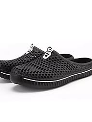 cheap -Men's Light Soles PU Summer Sandals Black / White / Red / Casual