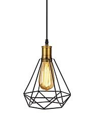 cheap -1-Light OYLYW Geometric Pendant Light Ambient Light Metal Mini Style 110-120V / 220-240V Bulb Not Included / E26 / E27