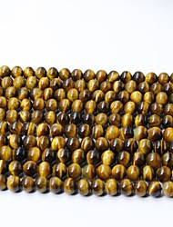 cheap -DIY Jewelry 65 pcs Beads Crystal Yellow Round Bead 0.6 cm DIY Necklace Bracelet