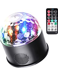 cheap -Disco Lights Party Light LED Stage Light / Spot Light Sound-Activated / Auto Party / Stage / Bar Easy Carrying Multi Color for Dance Party Wedding DJ Disco Show Lighting