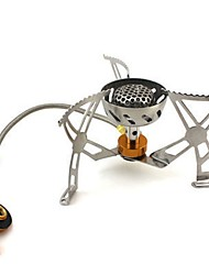 cheap -Camping Stove Camping Burner Stove Outdoor Cookware One-piece Suit Wearable for Stainless Steel Outdoor Camping Silver