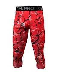 abordables -Homme Pantalons de Course Running Pantalon de survêtement Pantalon de sport Des sports Pantalons / Surpantalons Leggings Vélo tout terrain / VTT Course / Running Exercice & Fitness Respirabilité