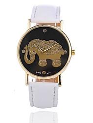 cheap -Women's Wrist Watch Quartz Black / White / Red Creative Casual Watch Analog Ladies Casual - Light Blue Khaki Light Green One Year Battery Life / Jinli 377
