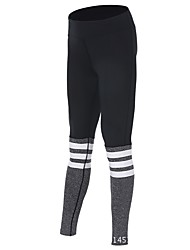 cheap -Women's High Rise Running Tights Cotton Sports Tights Leggings Yoga Fitness Gym Workout Workout Exercise Quick Dry Black