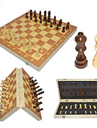 cheap -Chess Game Family Magnetic Parent-Child Interaction Wooden Boys' Girls' Toy Gift 32 pcs