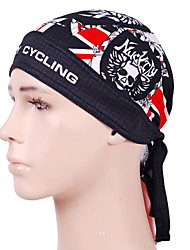 cheap -Nuckily Skull Cap Beanie Do Rag Stripes Geometic Windproof Sunscreen UV Resistant Breathable Quick Dry Bike / Cycling Black Polyester Winter for Men's Women's Adults' Camping / Hiking Leisure Sports