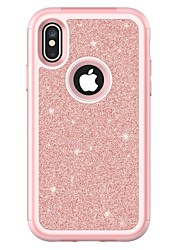 cheap -Case For Apple iPhone X / iPhone 8 Plus / iPhone 8 Shockproof Full Body Cases Armor Hard TPU