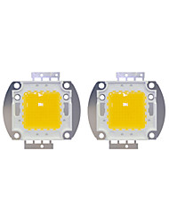 cheap -2pcs 8000lm Bulb Accessory LED Chip Brass 100W