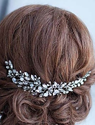 cheap -Alloy Headbands with Crystal 1pc Wedding / Special Occasion Headpiece