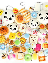 cheap -LT.Squishies Squeeze Toy / Sensory Toy Food&Drink / Panda / Cake Stress and Anxiety Relief / Office Desk Toys / Novelty Unisex Gift