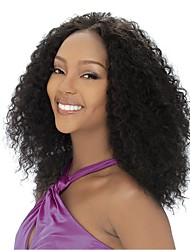 cheap -Human Hair Full Lace Wig style Brazilian Hair Kinky Curly Wig 130% Density Women's Human Hair Lace Wig