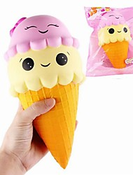 cheap -Squeeze Toy / Sensory Toy Squishy Toy Jumbo Squishies 1 pcs Food&Drink Ice Cream Stress and Anxiety Relief Novelty Super Soft For Kid's Adults' Boys' Girls' Gift Party Favor
