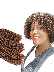cheap -Braiding Hair Curly Mali Twist Twist Braids Synthetic Hair 3pcs / pack Hair Braids Ombre Short New Arrival