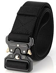 cheap -Men's Street chic Waist Belt - Solid Colored