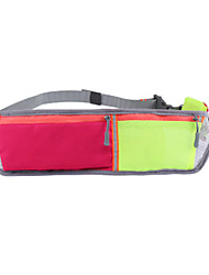 cheap -Running Belt Fanny Pack Waist Bag / Waist pack for Running Marathon Hiking Cycling / Bike Sports Bag Reflective Lightweight Breathable Nylon Running Bag / iPhone X / iPhone XR / iPhone XS