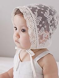 cheap -Kids / Toddler Girls' Cotton Hats & Caps White / Bandanas