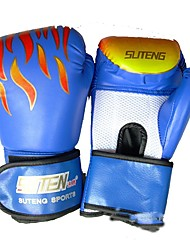 cheap -Boxing Bag Gloves For Boxing Protective PU Leather Unisex - Black Red Blue