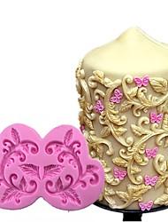 Недорогие -торт бордюр силиконовые формы цветок винограда помадка инструменты шоколадные формы для выпечки