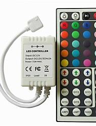 cheap -1 set Remote Control Dimmer DC12V 44keys LED Controller for SMD 3528 5050 2835 Led Strip Light