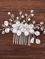 cheap -Imitation Pearl / Rhinestone with Acrylic / Faux Pearl 1pc Wedding Headpiece