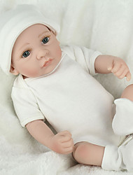 cheap -NPKCOLLECTION NPK DOLL Reborn Doll Baby 12 inch Full Body Silicone Silicone Vinyl - lifelike Cute Hand Made Child Safe Non Toxic Lovely Kid's Girls' Toy Gift / Parent-Child Interaction / CE Certified