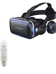 cheap -VR SHINECON 6.0 Virtual Reality 120 FOV 3D Glasses with Headset Stereo Box for Smartphone