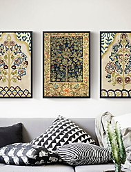 cheap -Garden Theme Oil Painting Wall Art,Aluminum Alloy Material With Frame For Home Decoration Frame Art Living Room Indoor